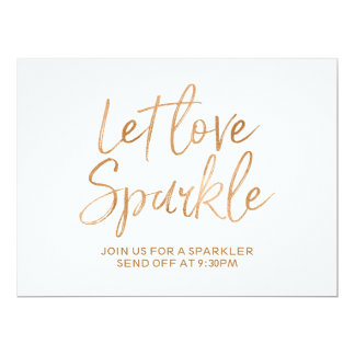 """Let love sparkle"" Sign 