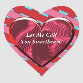 Let Me Call You Sweetheart 2 Sticker