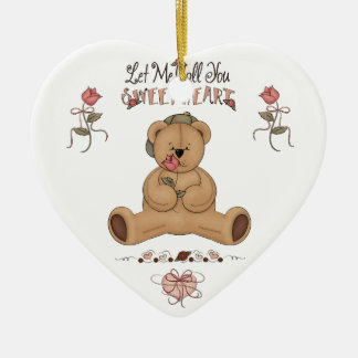 Let Me Call You Sweetheart Valentine's Day  Orname Ceramic Ornament