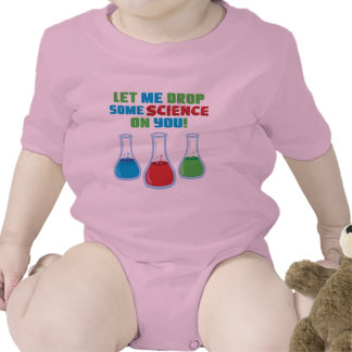 Let Me Drop Some Science On You Baby Bodysuit