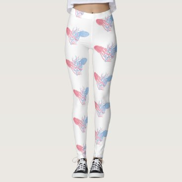 Beach Themed Let Me Hold You Octopus Leggings