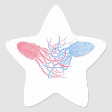 Beach Themed Let Me Hold You Star Sticker
