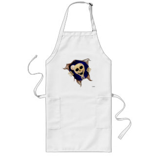 Let Me Out (Escaping Skeleton) Long Apron