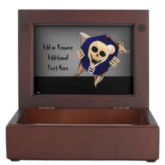 Let Me Out (Escaping Skeleton) Memory Box