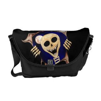 Let Me Out (Escaping Skeleton) Messenger Bag
