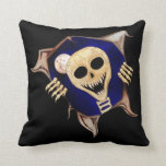 Let Me Out (Escaping Skeleton) Pillow