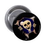 Let Me Out (Escaping Skeleton) Pinback Buttons