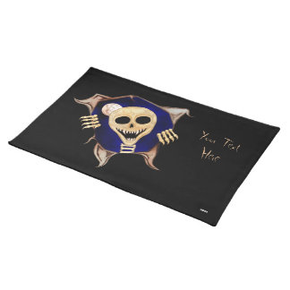Let Me Out (Escaping Skeleton) Placemat