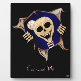 Let Me Out (Escaping Skeleton) Plaque