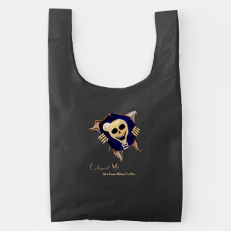 Let Me Out (Escaping Skeleton) Reusable Bag