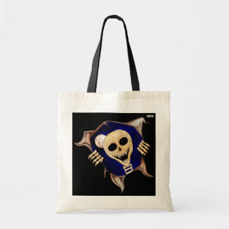 Let Me Out (Escaping Skeleton) Tote Bag