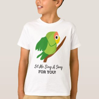 Let Me Sing A Song T-Shirt