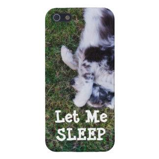 LET ME SLEEP DOG DAYS OF SUMMER IPHONE CASE
