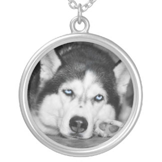 Let Me Sleep Please Silver Plated Necklace