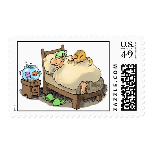 let me sleep ! stamps