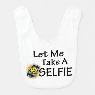 Let Me Take A Selfie Baby Bib