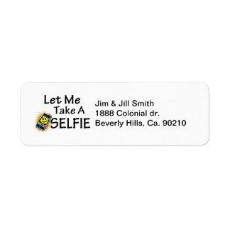 Let Me Take A Selfie Label