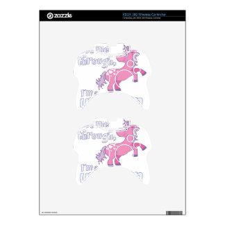 let me through i´m a unicorn xbox 360 controller skins