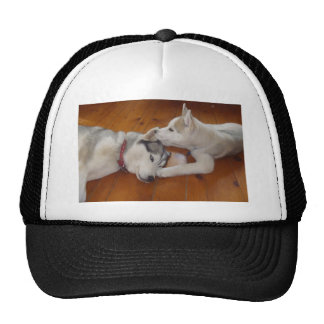 "Let me whisper in your ear....""I love you"". Trucker Hat"