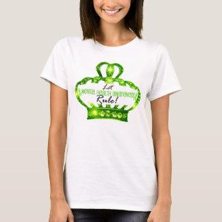 Let Mental Health Awareness Rule Tiara T-Shirts
