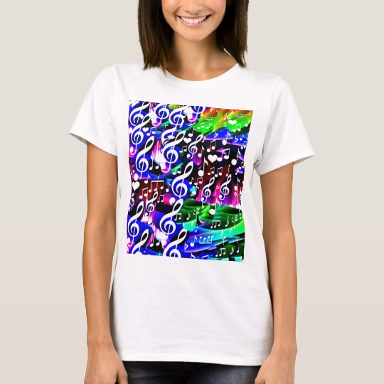 Let music live_ T-Shirt