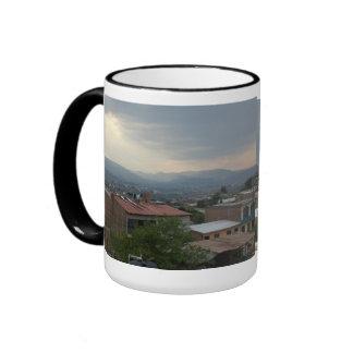 Let my light shine ringer mug