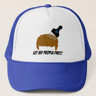 Let My People Fro Trucker Hat
