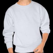 Let My People Go Barack Obama Superimposed Pullover Sweatshirt
