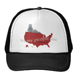 Let My People Go! Exodus 9:1 Trucker Hat