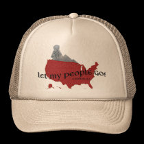 Let My People Go! Exodus 9:1 Trucker Hat