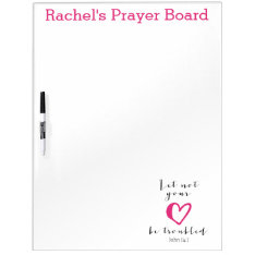 Let Not Your Heart Be Troubled Prayer Board at Zazzle