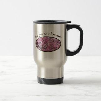 Let Peace Blossom Travel Mug