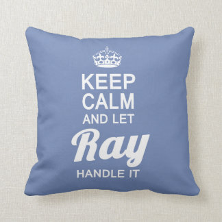 Let Ray handle it! Throw Pillow