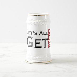 Let' S Al Get Drunk catches 18 Oz Beer Stein