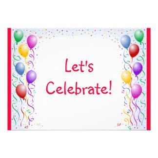Let s Celebrate invite