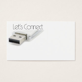 Let's connect USB Business Card