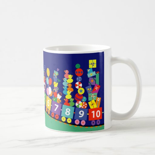 Let's Count! Classic White Coffee Mug