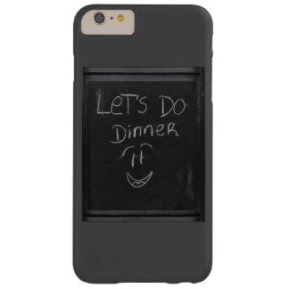 let`s do dinner barely there iPhone 6 plus case