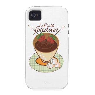 Let s do fondue iPhone 4 cases