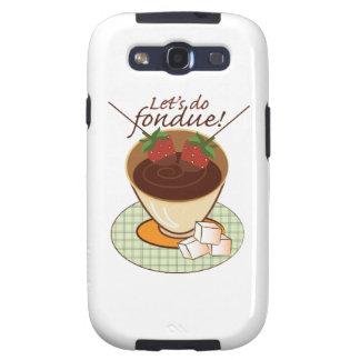 Let s do fondue samsung galaxy s3 cover