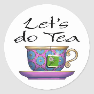 Let s do Tea - 011 Sticker