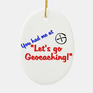 Let s Geocache Ornament