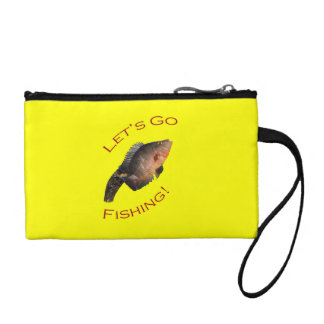 Let s Go Fishing Coin Wallets