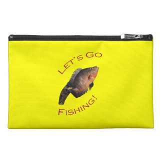 Let s Go Fishing Travel Accessory Bags