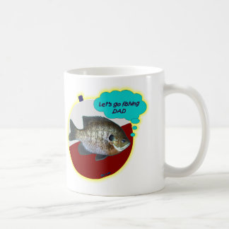 Let s Go Fishing Dad Coffee Mugs