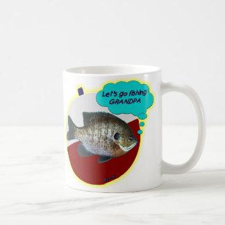 Let s Go Fishing Grandpa Coffee Mugs