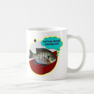 Let s Go Fishing Grandson Coffee Mugs