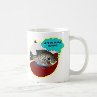 Let s Go Fishing Mommy Coffee Mug