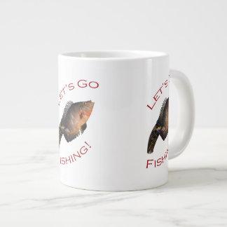 Let s Go Fishing Extra Large Mug