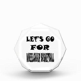 Let s Go For WHEELCHAIR BASKETBALL Awards